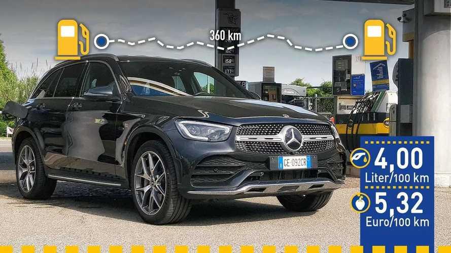 Tatsächlicher Verbrauch: Mercedes GLC 300 de im Test