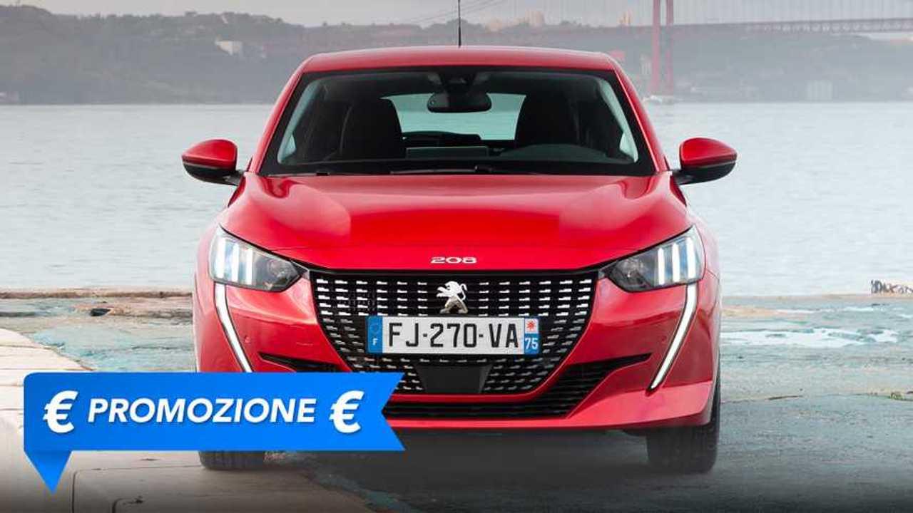 Peugeot 208, promozione giugno 2021