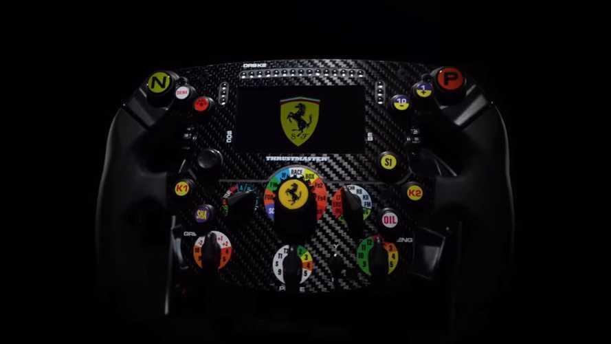 Thrustmaster, Ferrari SF1000'den esinlenen direksiyonunu tanıttı