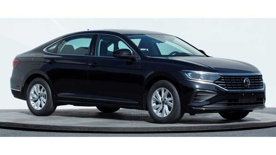 2022 Volkswagen Passat Facelift For China Makes Early Debut