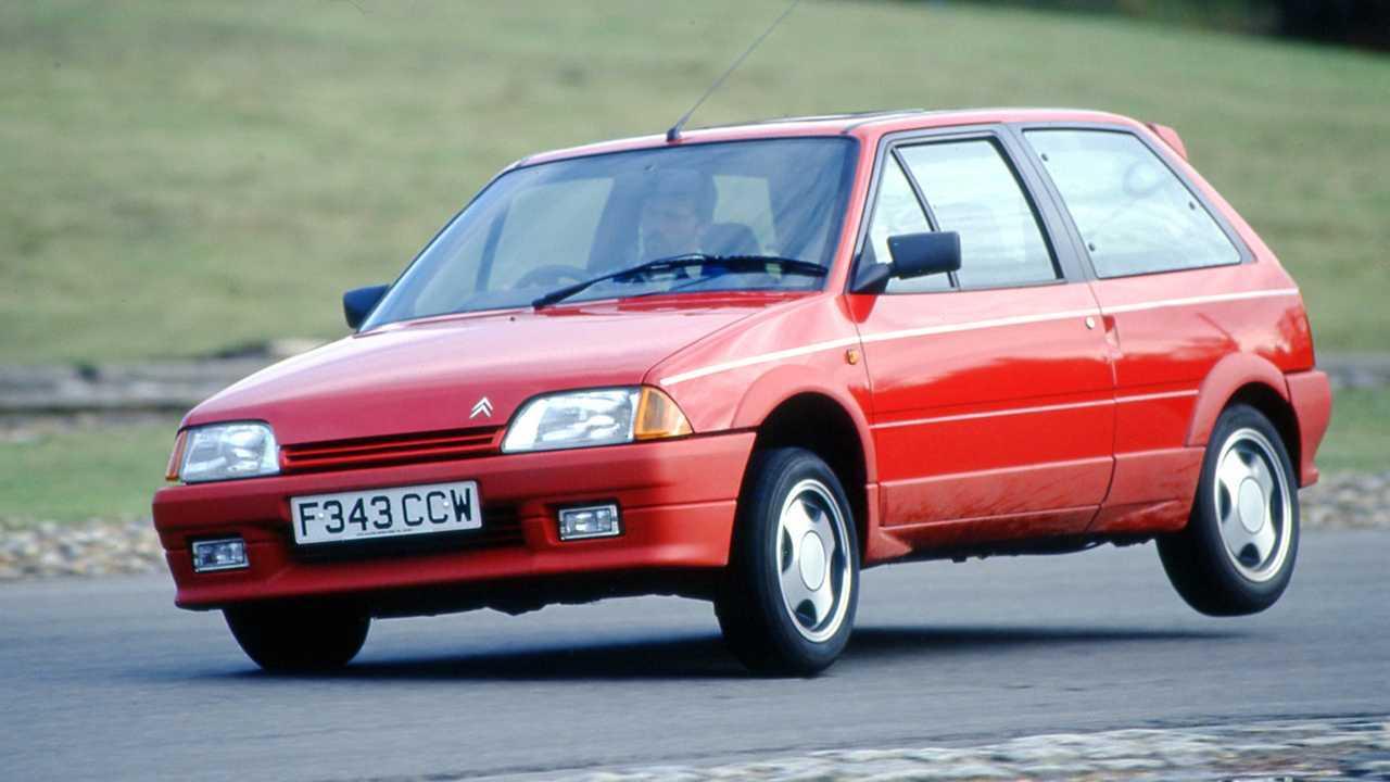 Citroën AX - 640 kg