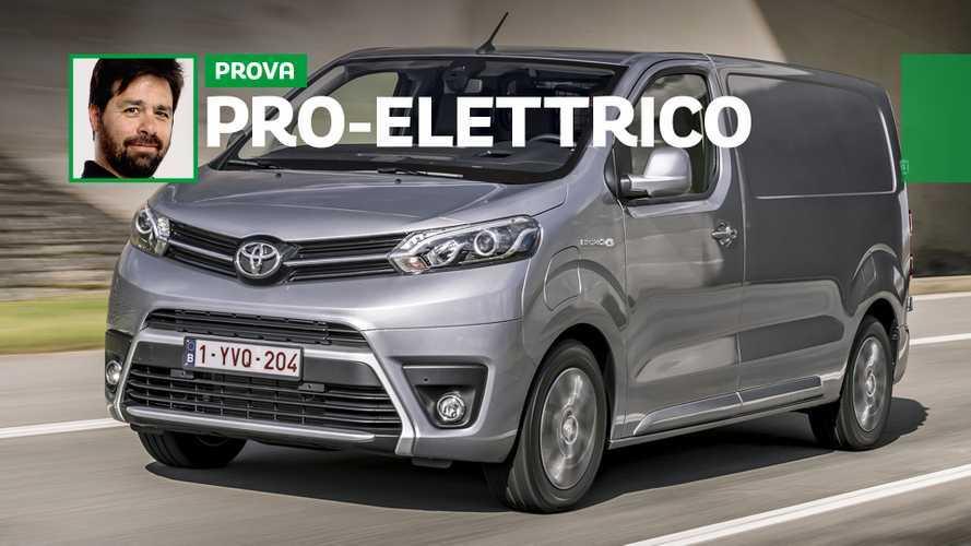 Toyota Proace Electric, a prova di metropoli