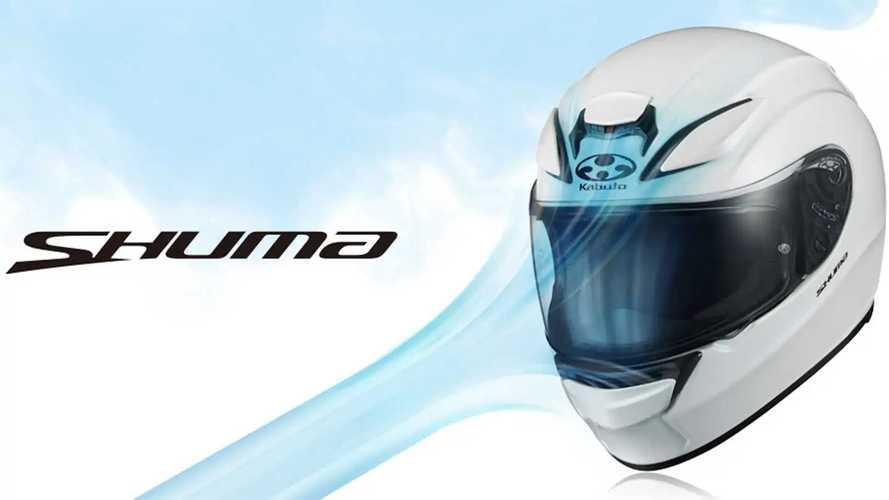 Kabuto's New Shuma Full-Face Helmet Arrives In Time For Summer