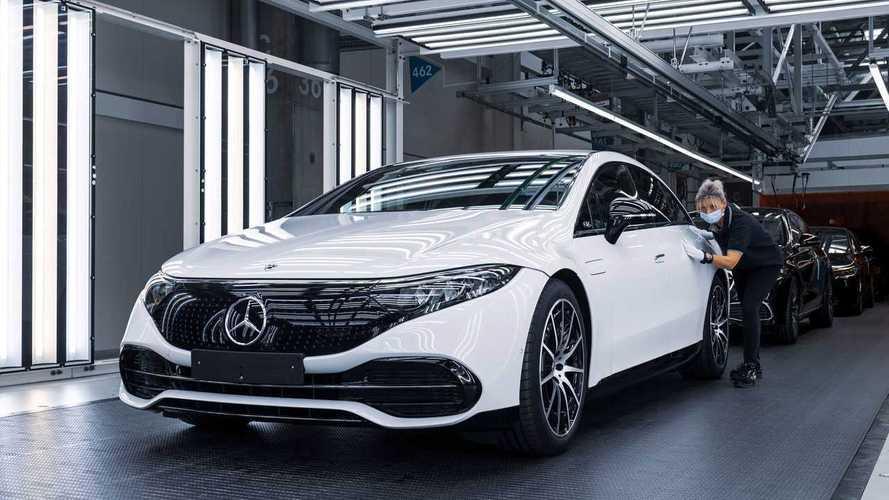 Mercedes-Benz EQS Production