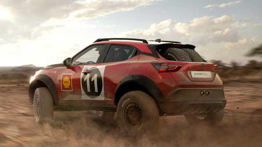 Nissan Juke Rally Tribute Concept (2021)