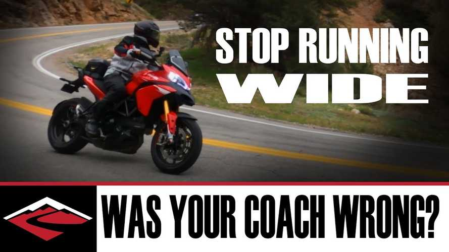Can Trail Braking Help You Stop Running Wide In Corners?