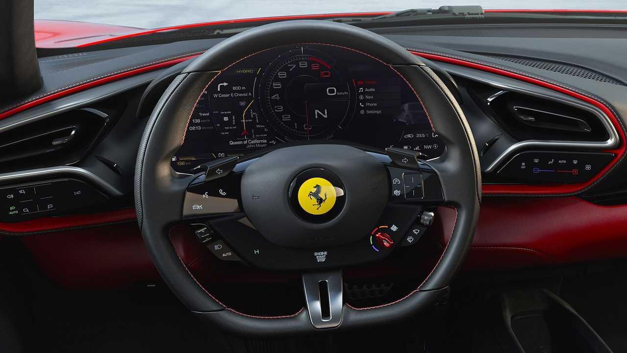 Ferrari F430 designer gives the 296 GTB a new look