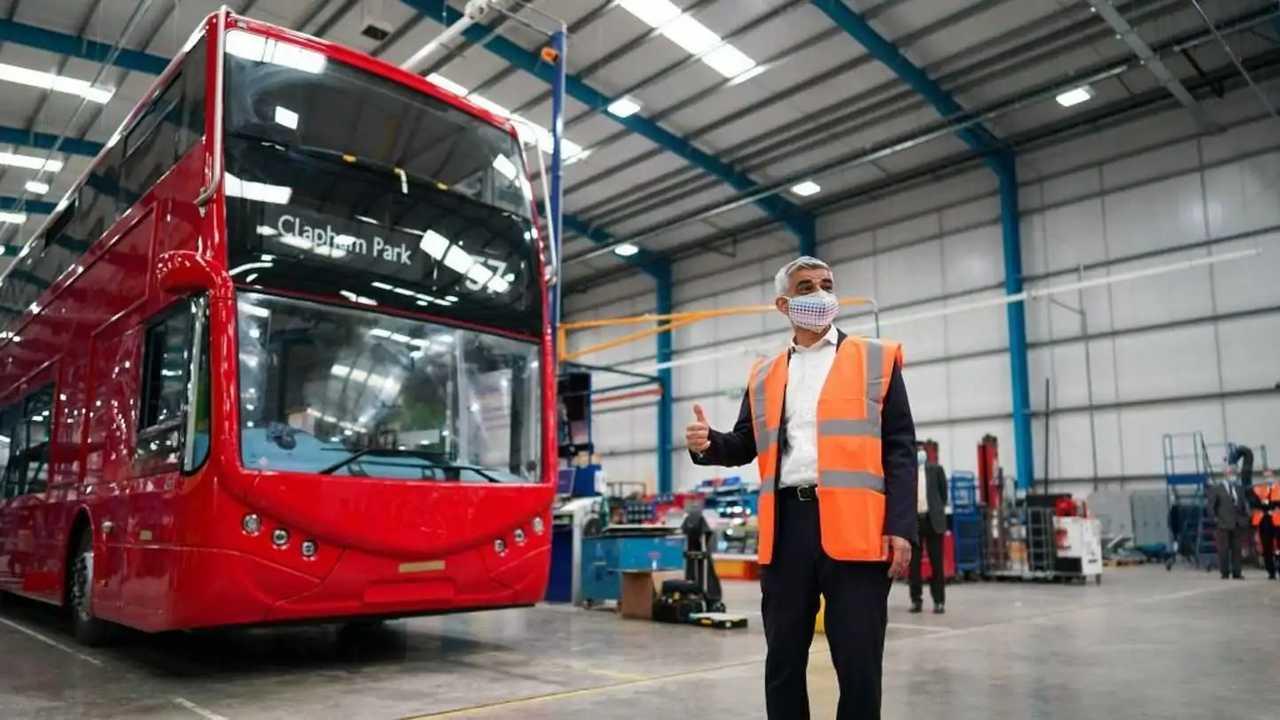 L'autobus a idrogeno di Londra