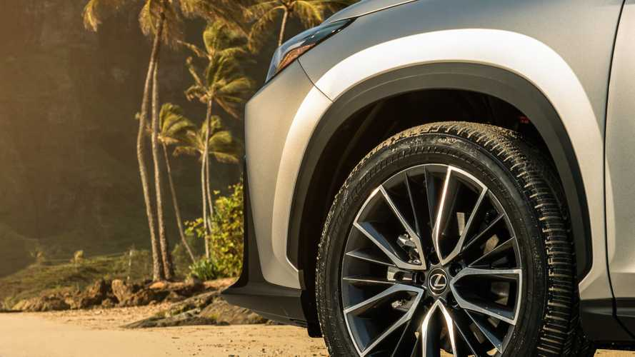 2022 Lexus NX shows more of its body in new teaser image