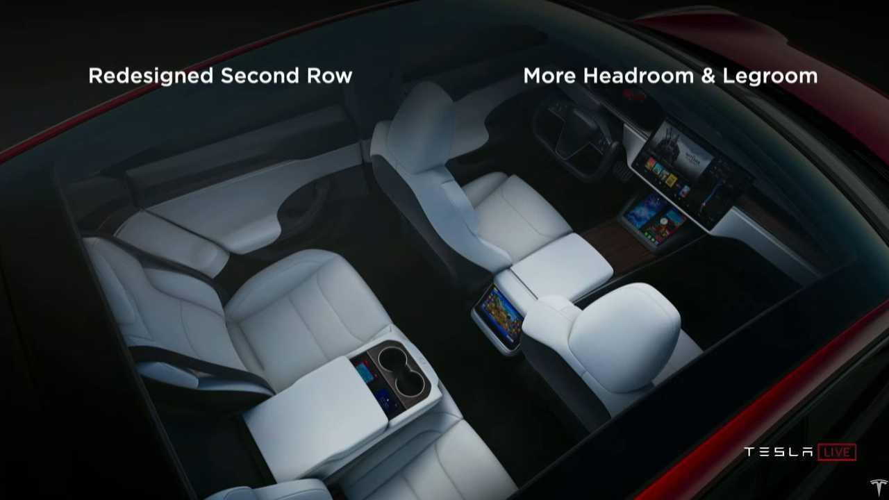 Tesla Model S Plaid interior
