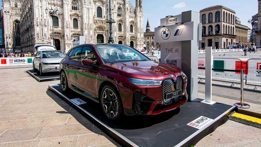 BMW iX al MIMO 2021