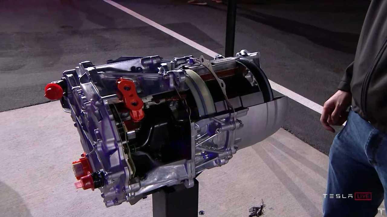 Tesla Model S Plaid electric drive unit
