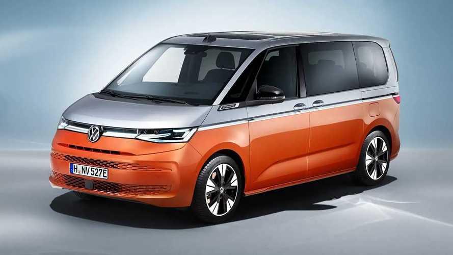 Ожиданию конец: встречайте гибридный Volkswagen Multivan T7