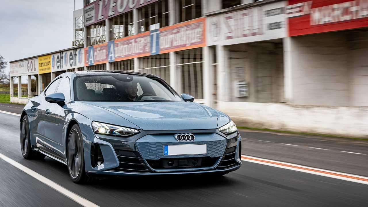 Der Audi e-tron GT quattro im ersten Test