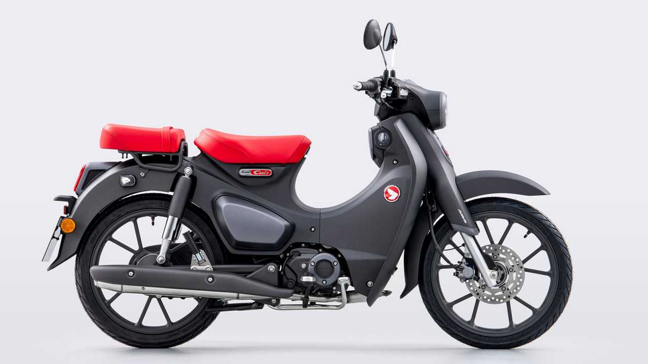 Die Honda Super Cub des Modelljahrs 2022