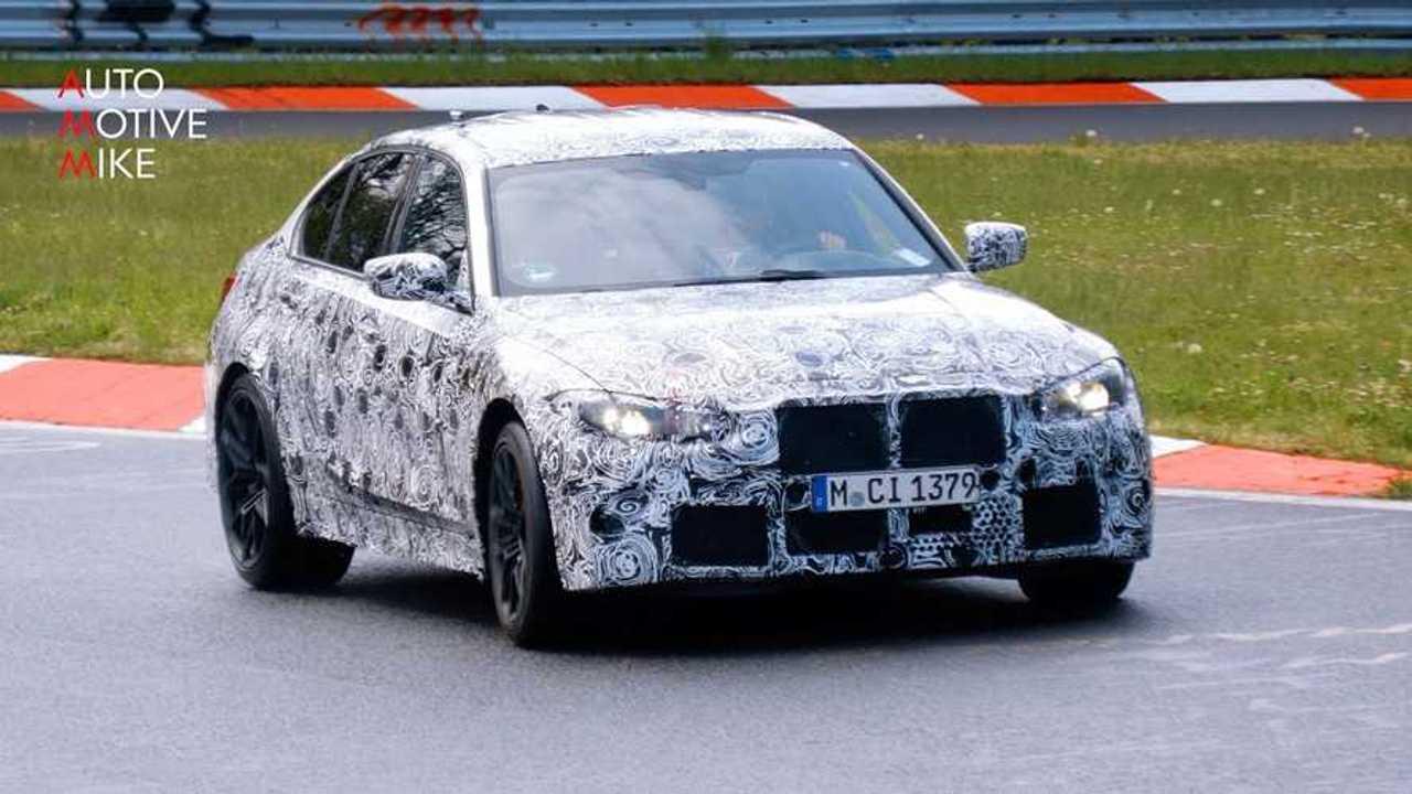 BMW M3 foto spia Nurburgring