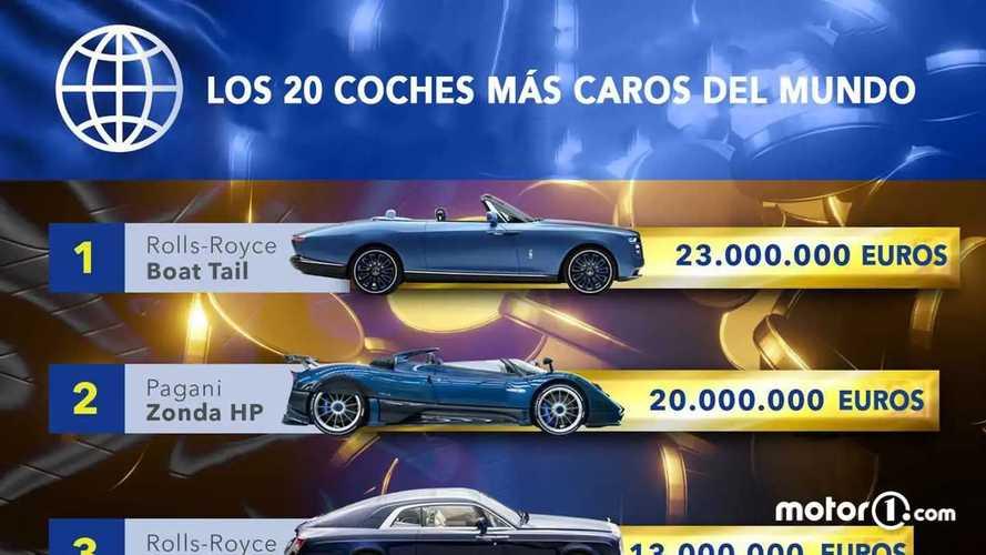 Los 20 coches más caros del mundo. Fotos y clasificación
