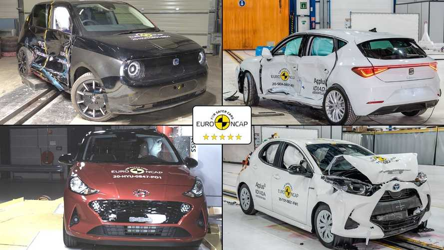 SLIDESHOW | 2020 yılının Euro NCAP sonuçları