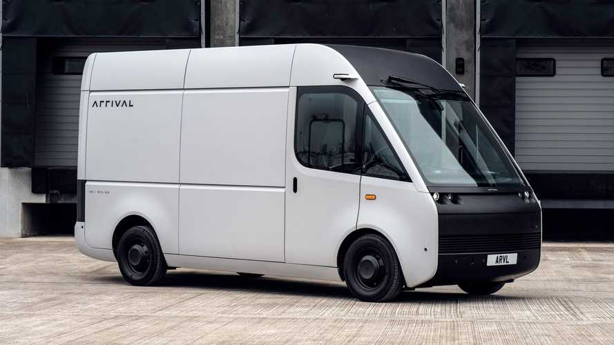 Arrival Unveils Electric Van With Over 200 Miles Of Range