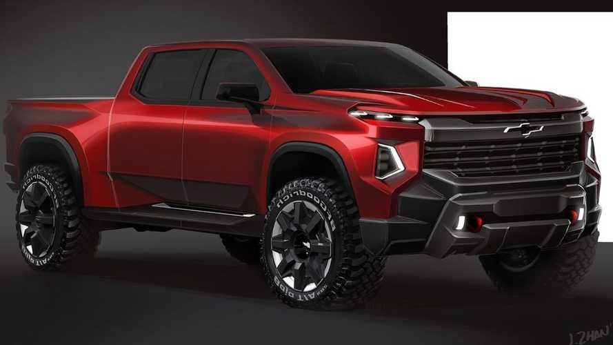 GM Designer Sketches Mean-Looking Truck, Is It The Silverado's Future?