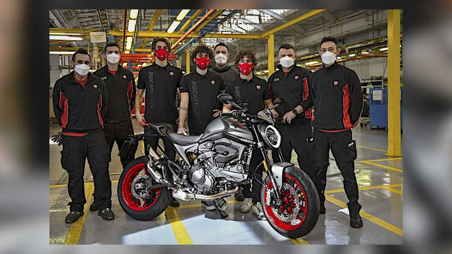 Ducati Begins Production On The Redesigned 2021 Monster