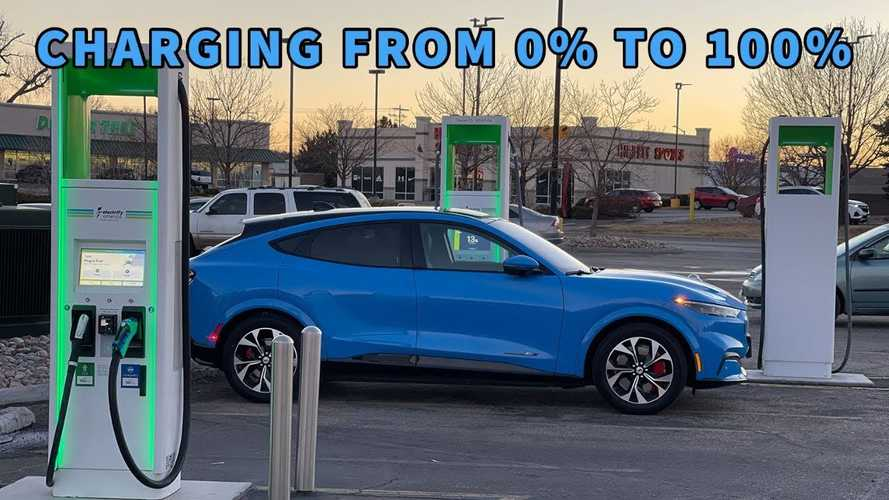 Ford Mustang Mach-E First Edition In-Depth DC Fast Charging Analysis