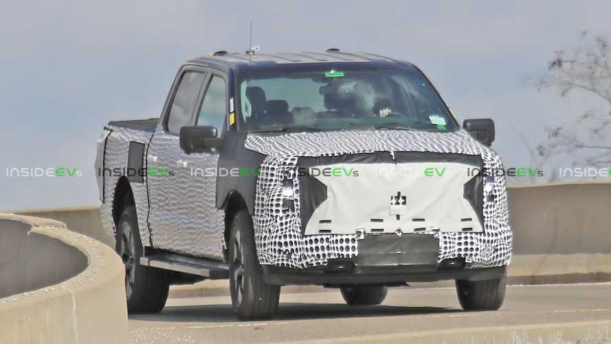 Behold, The Production Ford F-150 EV Hidden Under Heavy Camo