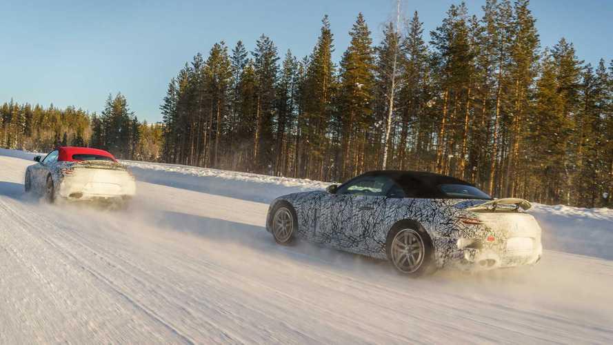 Mercedes-Benz SL 2021, nuevas fotos espía