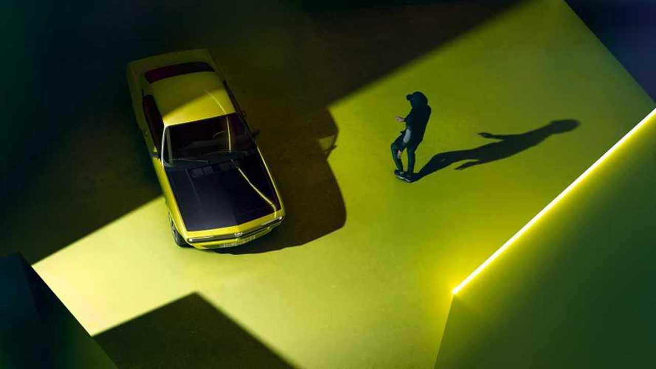 Teaser Opel Manta électrique