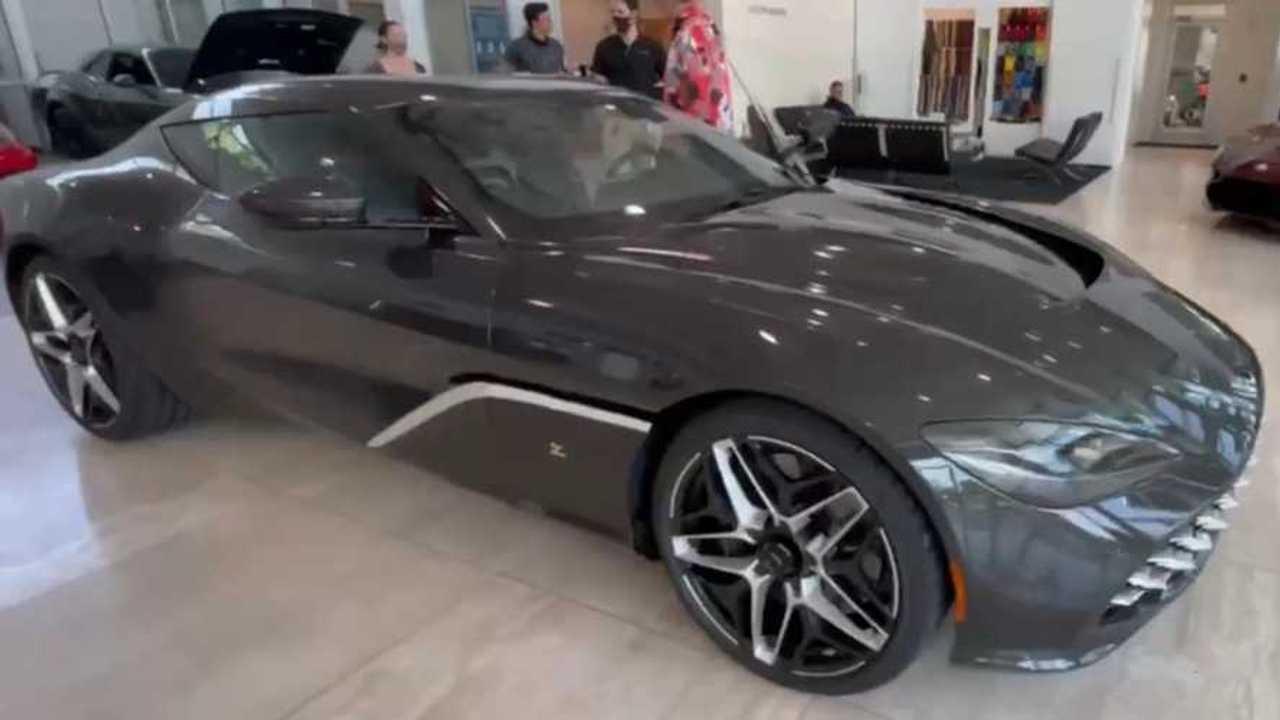 Aston martin zagato dbs gt