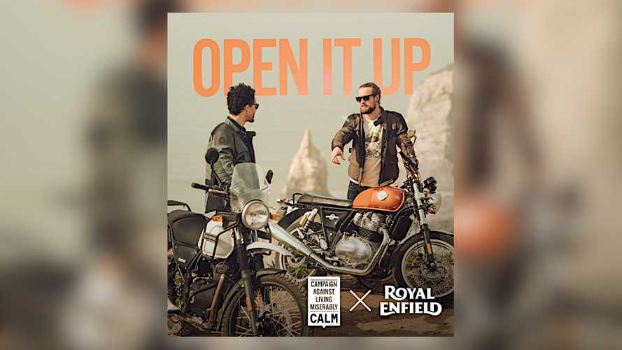 Royal Enfield teams up with UK org to promote mental health
