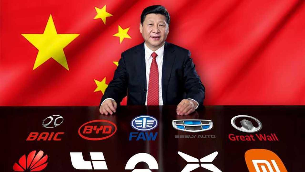 Tutte le Case cinesi dell'auto elettrica