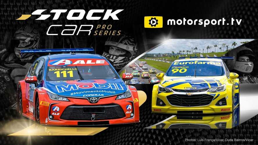 Motorsport.TV transmitirá Stock Car globalmente em inglês e russo