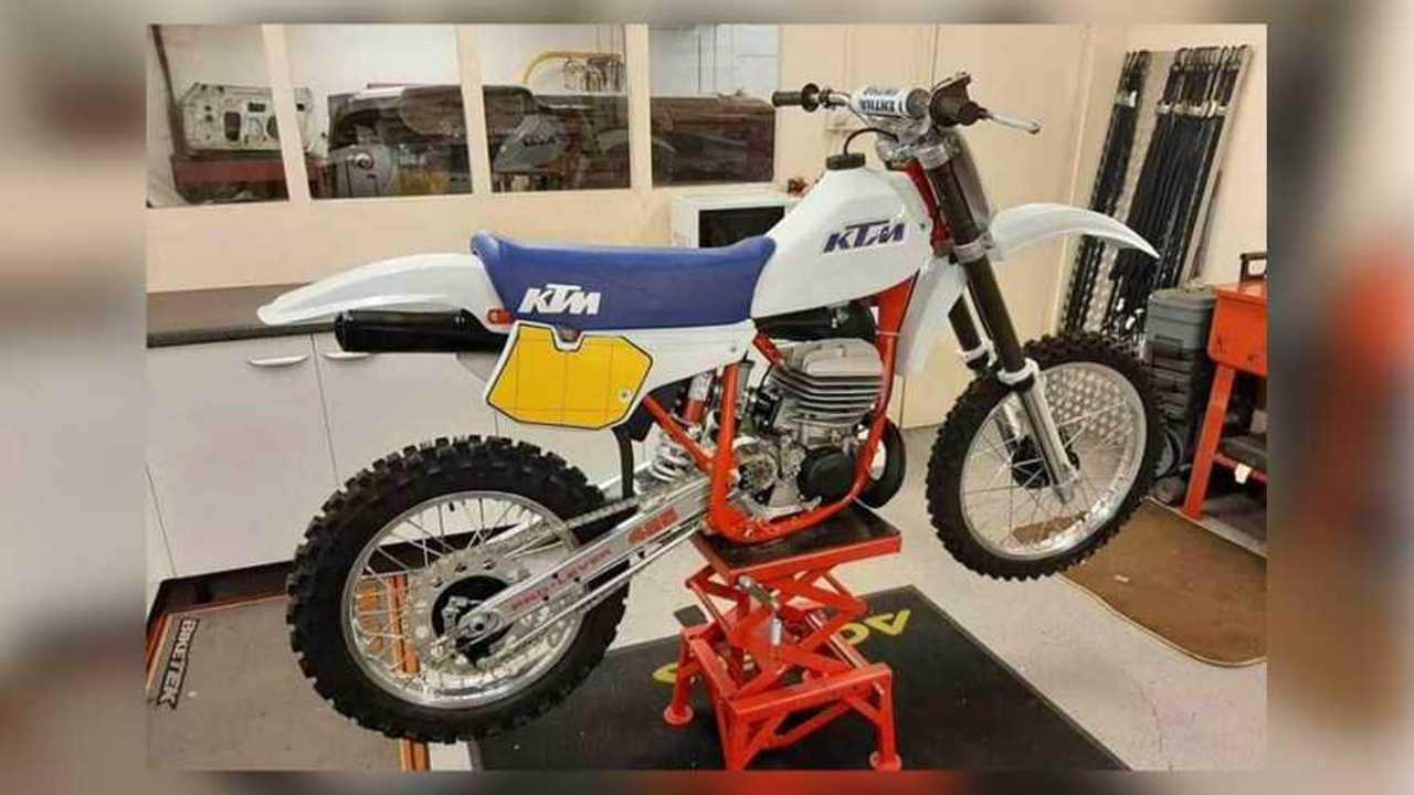 KTM Motocross Theft