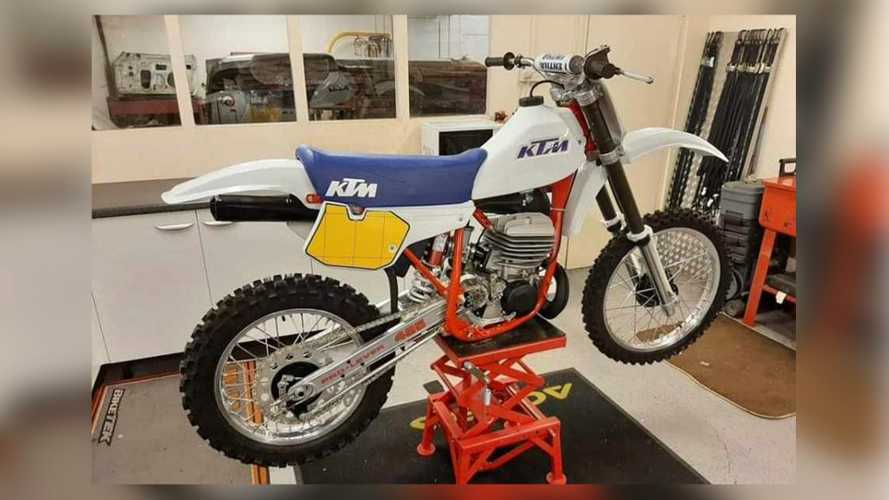 Rare KTM Motocross Bikes Stolen From U.K. Collector