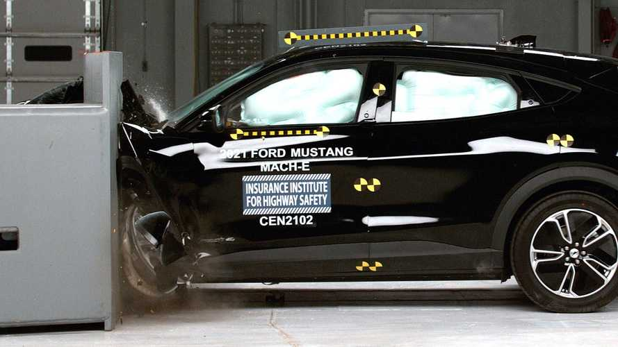 2021 Ford Mustang Mach-E IIHS Crash Tests