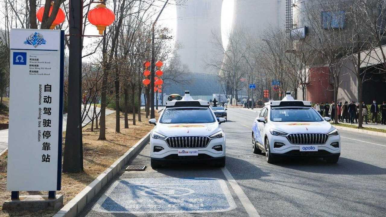 В Китае появилось настоящее роботакси