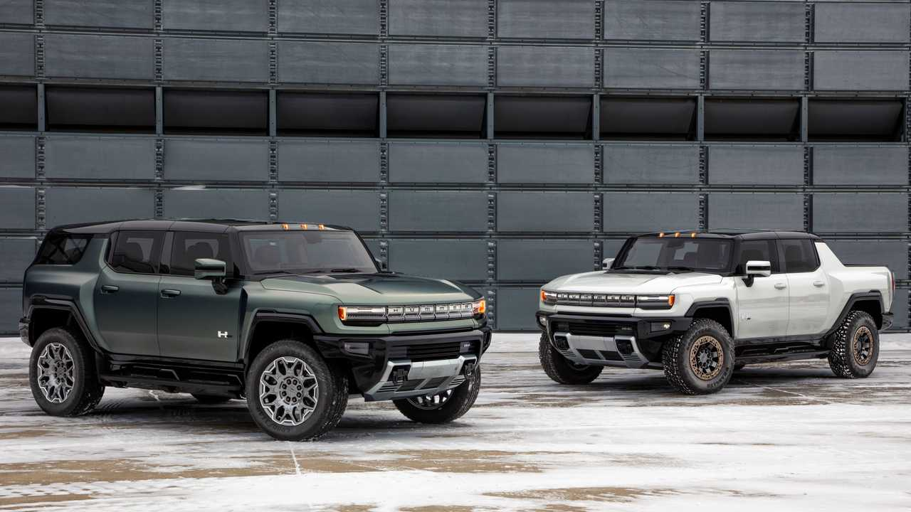 2024 GMC Hummer EV SUV And Truck