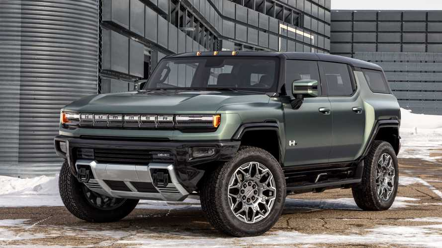GMC Drops Details For Hummer EV SUV Including Trail Nav Maps