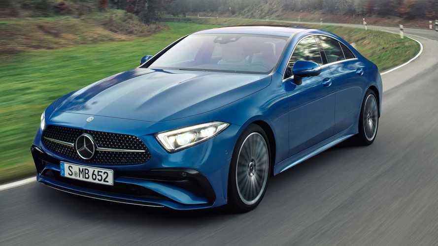 Mercedes-Benz CLS обновился и стал дизельным гибридом