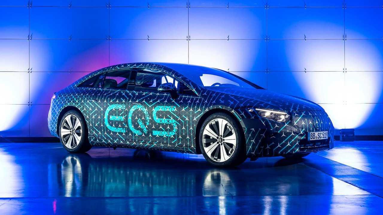 Mercedes-Benz EQS - especificações