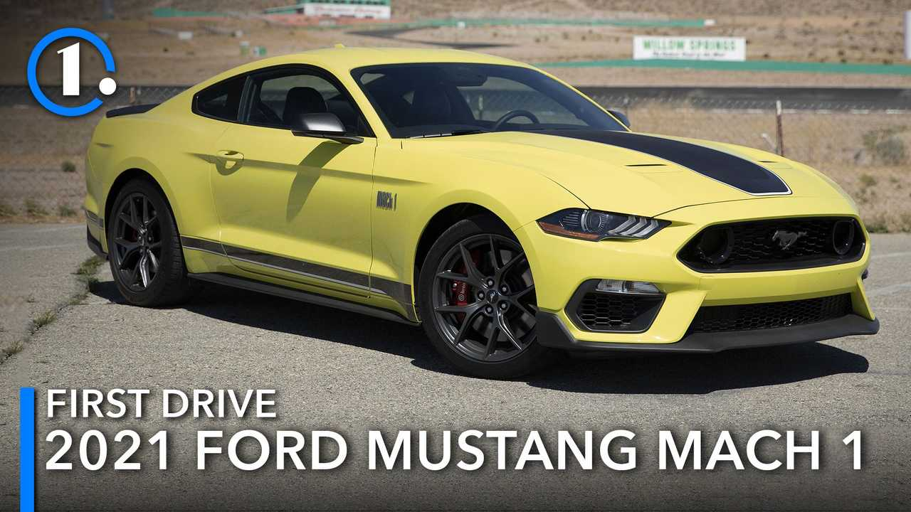 The 2021 Ford Mustang Mach 1 At Willow Springs.