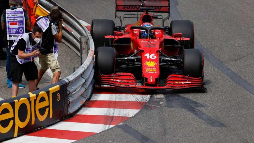 Leclerc 'not too harsh on myself' over Q3 Monaco crash