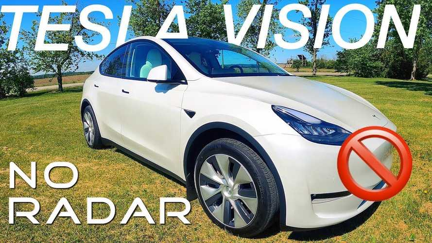 This Tesla Model Y Has No Radar: Let's See How Tesla Vision Works