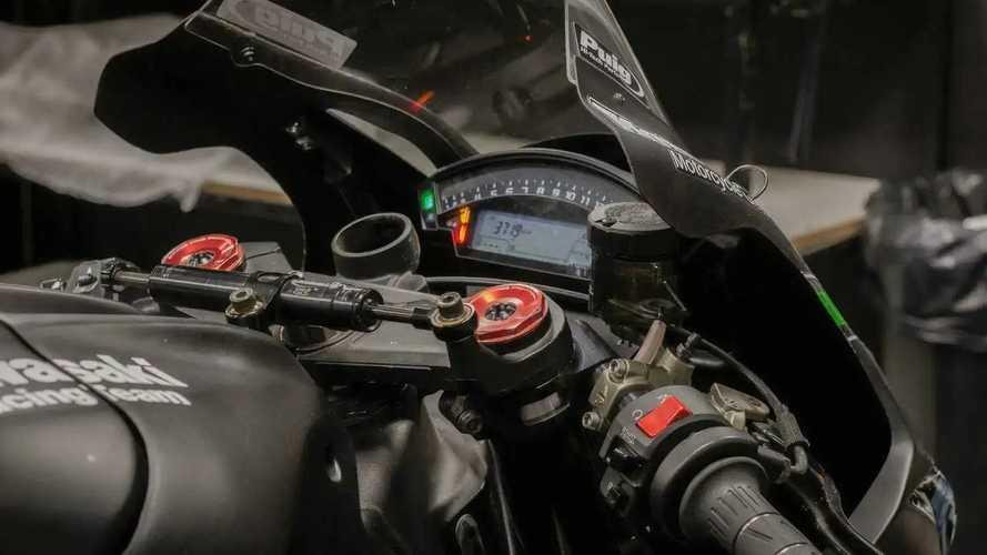 Kawasaki ZX-10R Winter Test KRT 2016 - Jonathan Rea