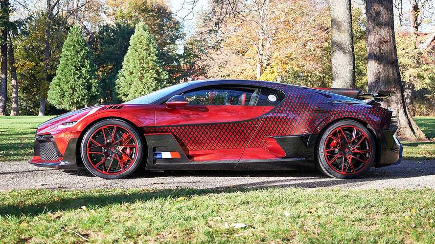 Unique Bugatti Divo 'Lady Bug' Wears Wild Custom Paint Scheme