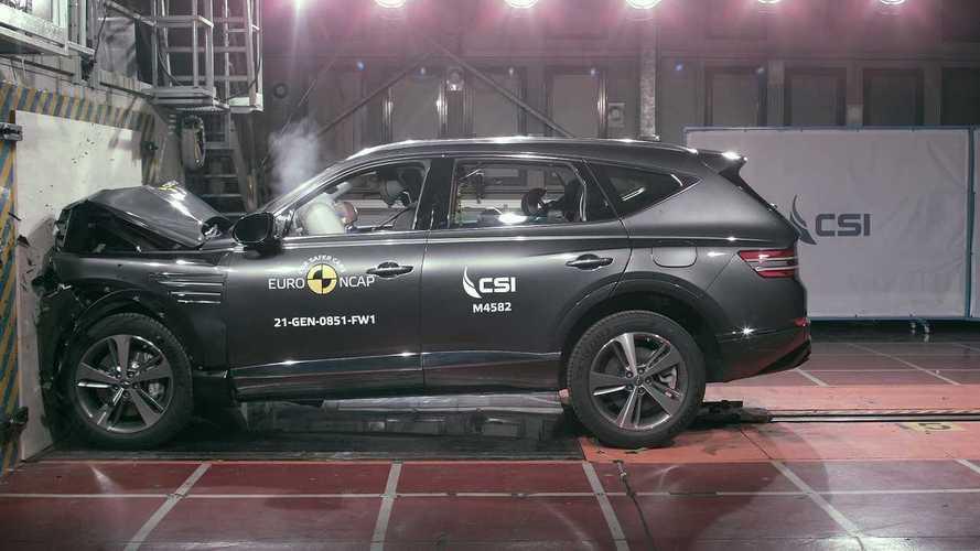 Genesis GV80, i crash test Euro NCAP