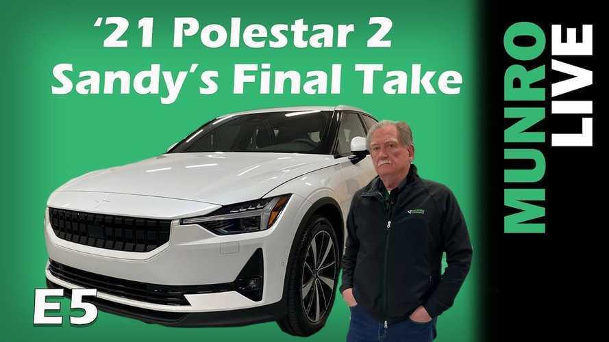 Sandy Munro Completes Polestar 2 Overview: It's Tesla-Worthy