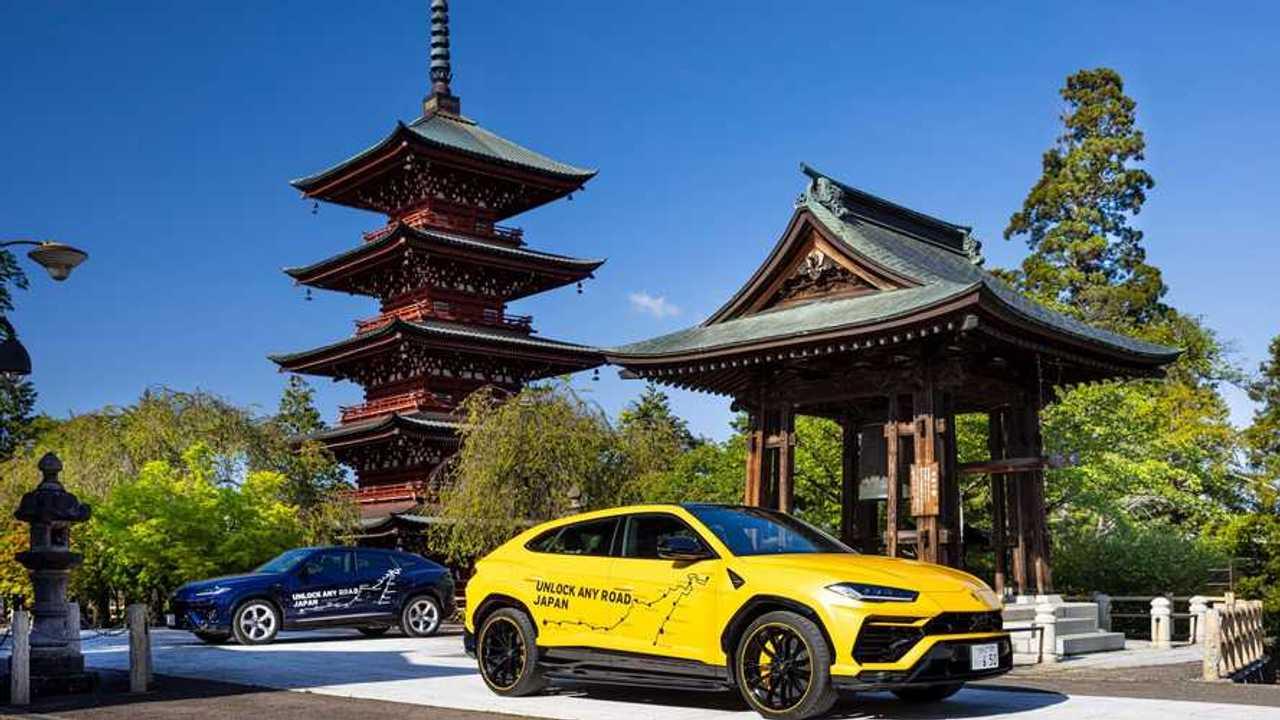 Lamborghini Urus - Unlock Any Road Japan