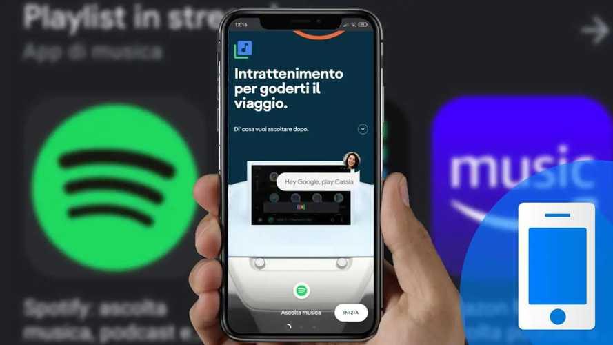 Le app Android Auto per ascoltare musica, podcast e audiolibri